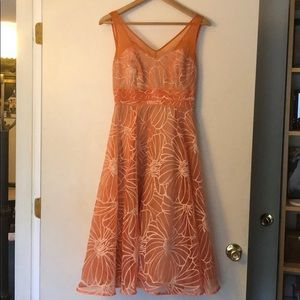 Anthropologie Semi formal dress